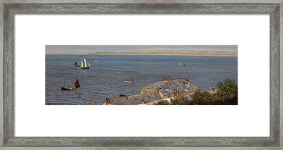 St Ives Framed Print by Charles Sim Mottram