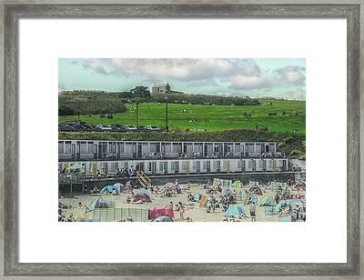 St Ives Cornwall Framed Print