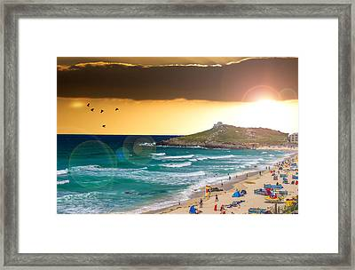 St Ives Cornwall Uk Framed Print