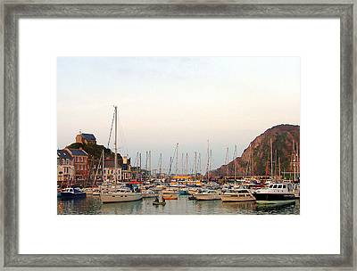 St Ives England Framed Print by Mindy Newman