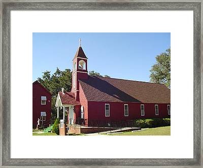 St. James Catholic Church Framed Print by Richard Marcus