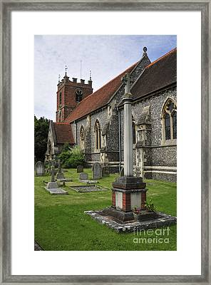 St James The Less Church Framed Print