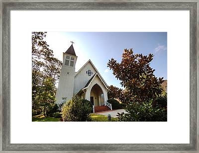 Framed Print featuring the photograph St. James V4 Fairhope Al by Michael Thomas