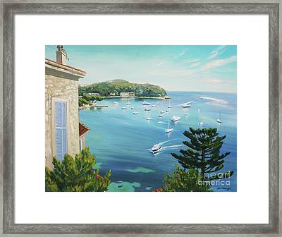 St Jean Cap Ferrat 2 Framed Print by Lin Petershagen