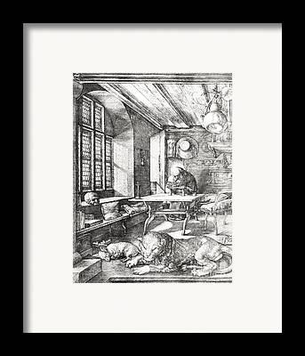 The Church Drawings Framed Prints