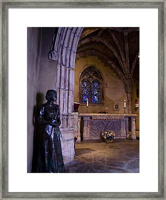 St Joan Chapel Framed Print