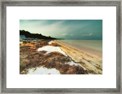 St. Joe's Bay Framed Print by Rich Leighton