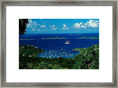 St. John Morning Framed Print