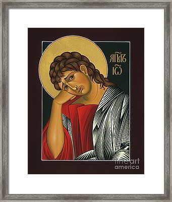 Framed Print featuring the painting St. John The Apostle 037 by William Hart McNichols