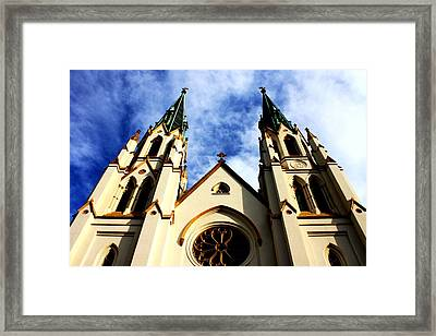 St. John The Baptist Cathedral Framed Print by Dana  Oliver