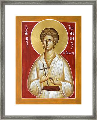 St John The Russian Framed Print
