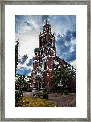 St. Johns Cathedral 1 Framed Print by Robert Hebert