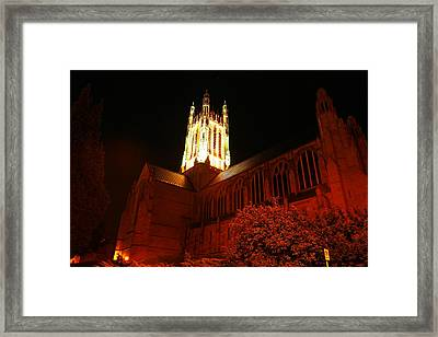St Johns Cathedral Framed Print