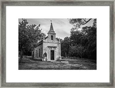 St. John's Church In Little Gidding Framed Print