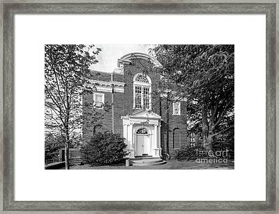 St. John's College Annapolis Randall Hall Framed Print by University Icons