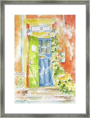 St Johns Jelly Bean At 8 Wood Street Framed Print by Pat Katz