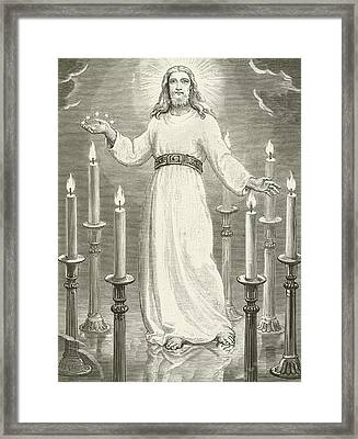 St John's Vision Framed Print by English School