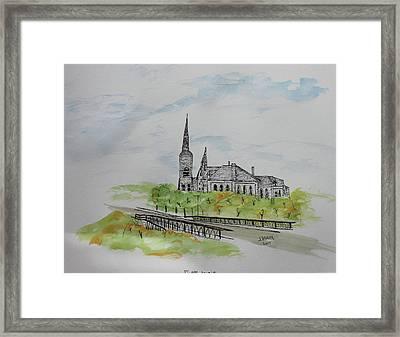 St Joseph Parish Framed Print