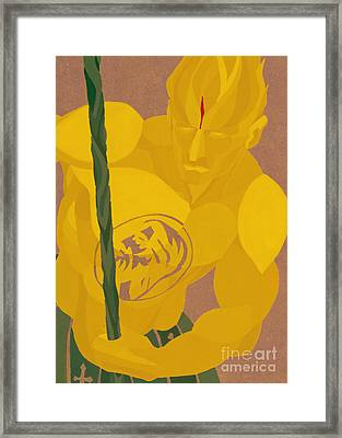 St Jude- Warrior Of The Lost And Forgotten Framed Print