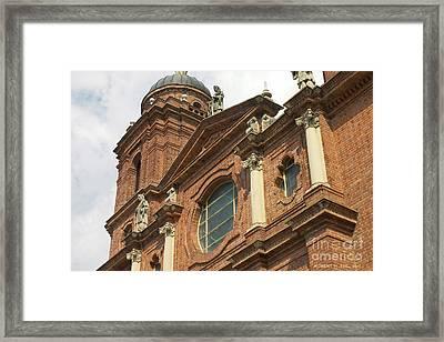 St Lawrence Asheville Framed Print by Robert M Seel