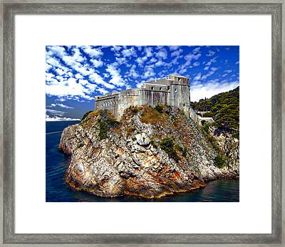 St. Lawrence Fortress Framed Print