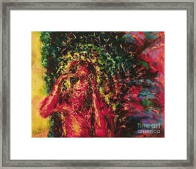 St. Lazarus - Bglaz Framed Print by Fr Bob Gilroy SJ