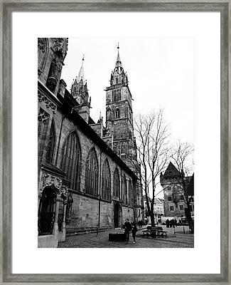 St. Lorenz Cathedral Framed Print