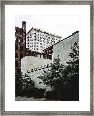 St. Louis Architecture. Downtown St. Louis. Framed Print by Dylan Murphy
