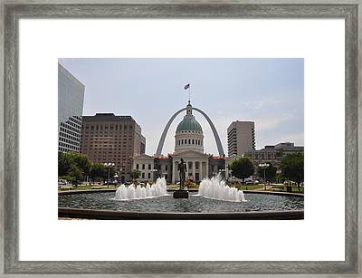 St Louis Blues Framed Print