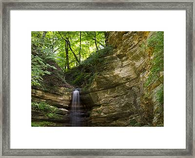St. Louis Canyon Framed Print