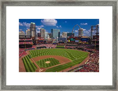 St. Louis Cardinals Busch Stadium Creative 16 Framed Print