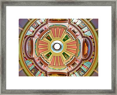 St Louis Old Courthouse Dome Framed Print
