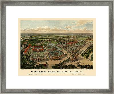 St. Louis Worlds Fair 1904 Framed Print