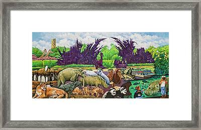 St. Louis Zoo Framed Print