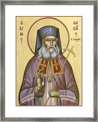 St Luke The Surgeon Of Simferopol Framed Print