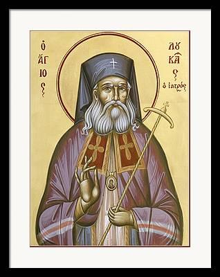 St Luke Of The Surgeon Framed Prints