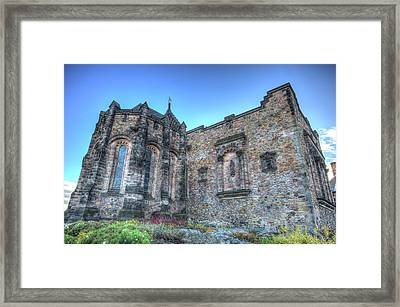 St Margaret's Chapel Edinburgh Framed Print