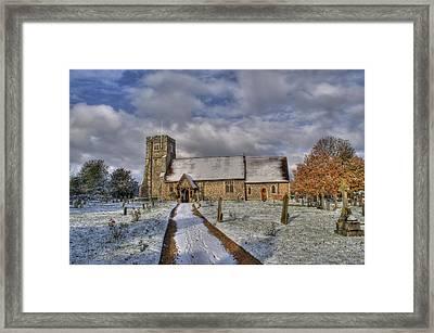St Margarets Church Ridge Hertfordshire Framed Print by Chris Thaxter