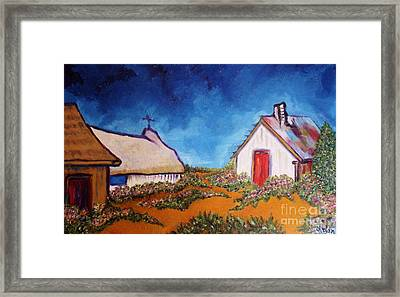 St Maries Framed Print by Chaline Ouellet