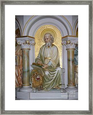 St. Mark Framed Print