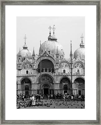 St. Marks Framed Print by Donna Corless