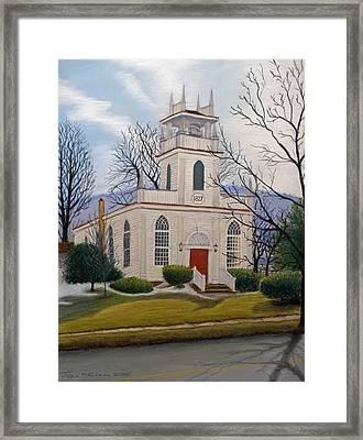 St. Marks  Framed Print by John Clum