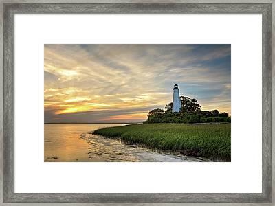 St. Mark's Lighthouse Framed Print