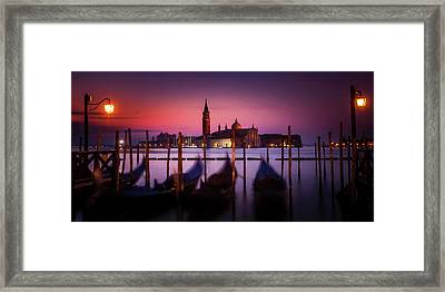 Framed Print featuring the photograph St. Marks Panorama by Andrew Soundarajan