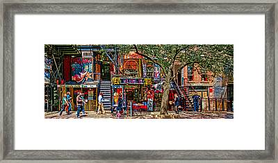 St Marks Place Framed Print by Chris Lord