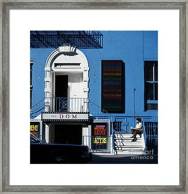 St. Marks Place Framed Print by Erik Falkensteen