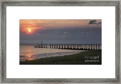 St. Mark's Sunset 6 Framed Print by Maria  Struss