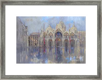 St Mark's -venice Framed Print by Peter Miller