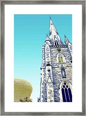 St Martins And Selfridges Framed Print