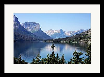 Secluded Mountain Landscape Framed Prints